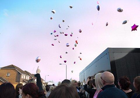 VIDEO: Balloon release marks 10th anniversary of Erith schoolgirl Gemma ...