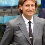 Happy chappy: Palace's co-chairman Steve Parish