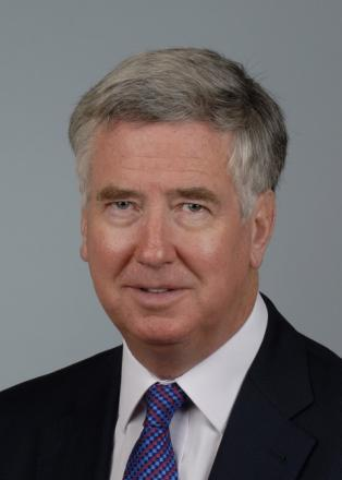 Michael Fallon has denied using the term