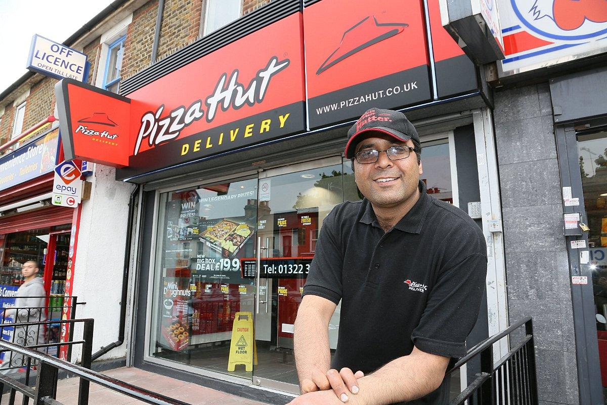 Erith Pizza Hut That Scored Lowest Possible Food Hygiene
