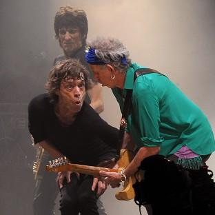 News Shopper: Mick Jagger and Keith Richards from the Rolling Stones perform on the Pyramid Stage