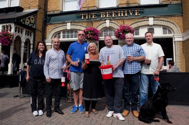News Shopper: The Beehive held a day of fundraising