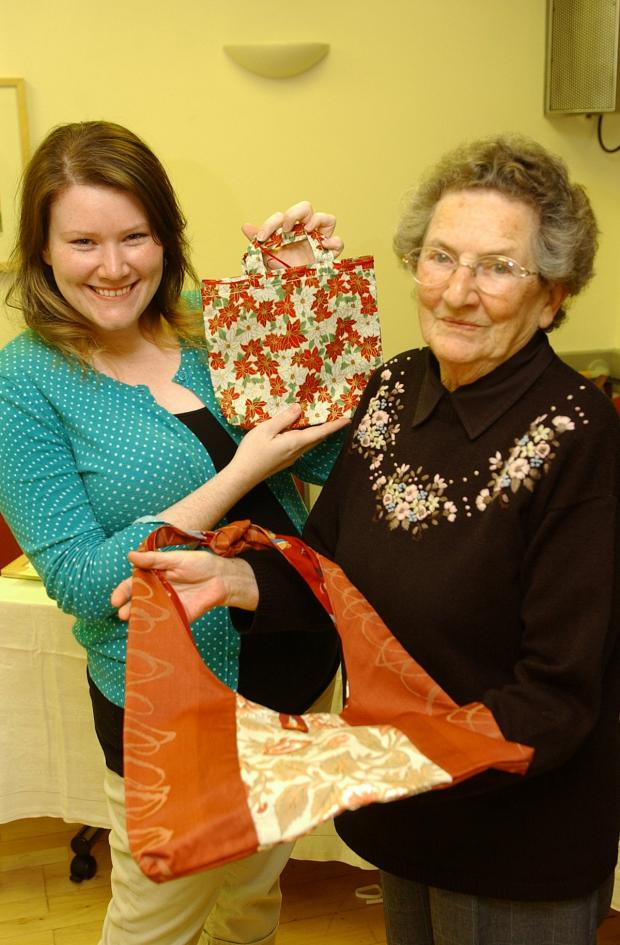 News Shopper: Eileen Maed and Catrina Mead