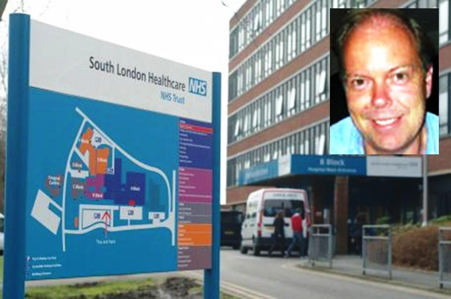 Former gynaecologist Rod Irvine (pictured) worked at Queen Mary's Hospital in Sidcup