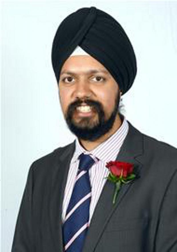 News Shopper: Cllr Tanmanjeet Singh Dhesi hopes to be Labour's victorious candidate in 2015.