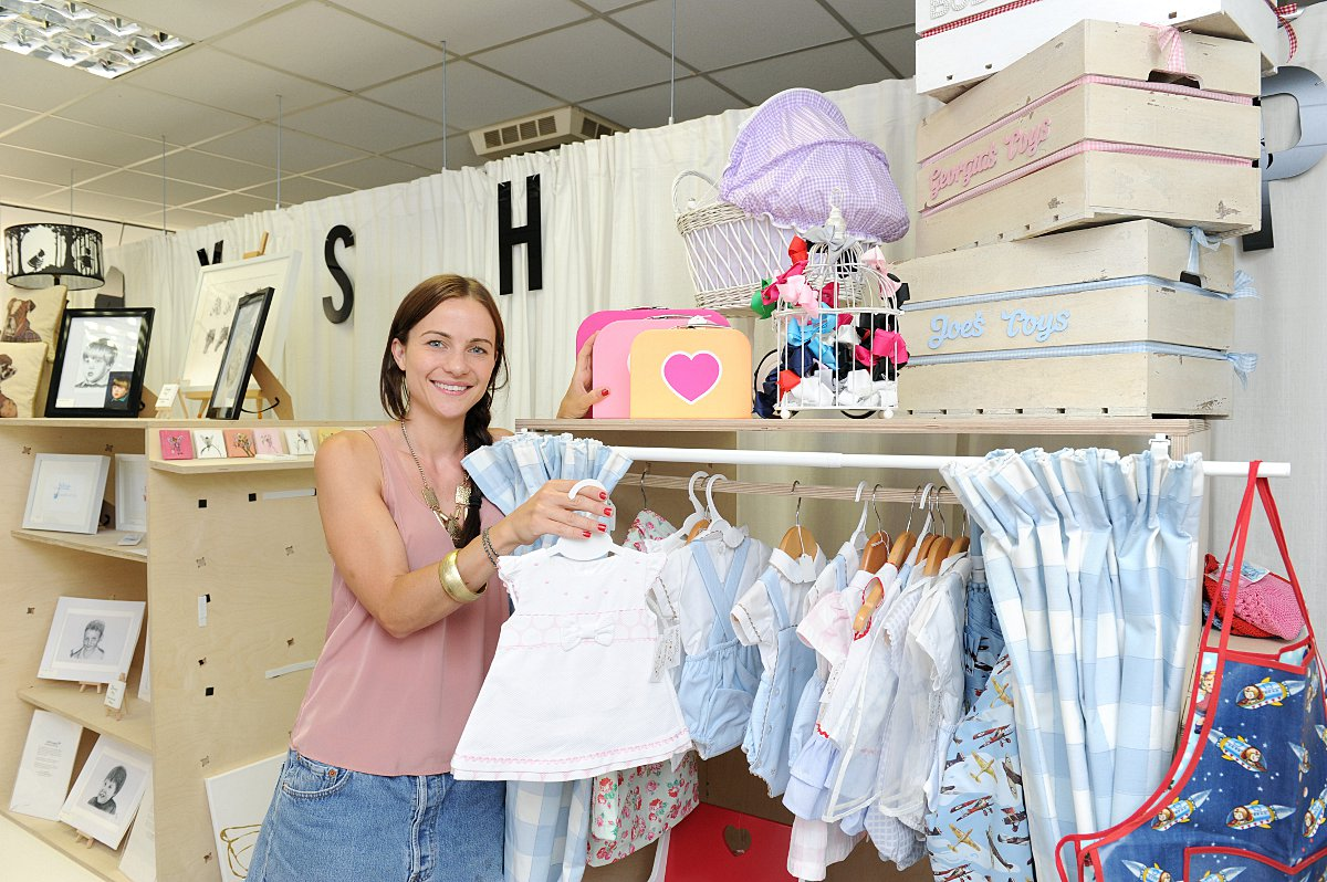 News Shopper: Jodie Rowell selling her baby items. Her business is called My Little Sparkle Boutique.