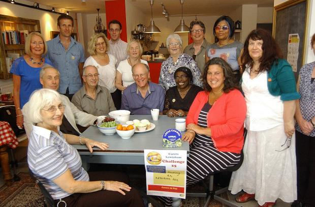 News Shopper: Lewisham carers celebrated with 25th anniversary tea party by MP