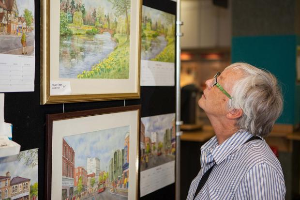 News Shopper: Scores of people have been enjoying the pictures at Bromley Central Library
