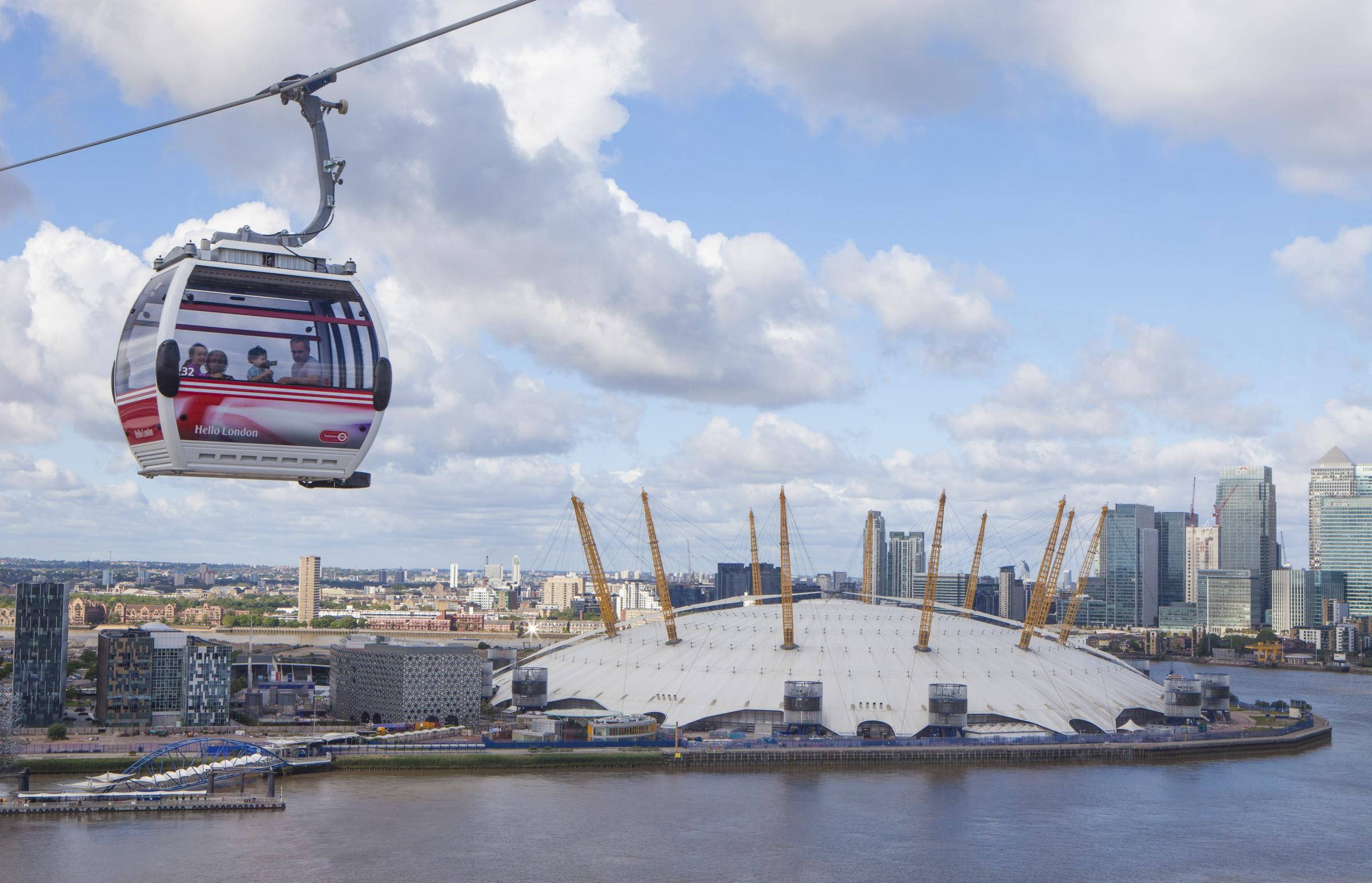 Greenwich and Newham Emirates Air Line passengers to get 50% discount