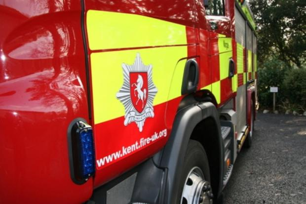 Thirty firefighters battle house fire in Farningham