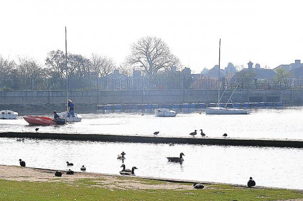 News Shopper: Danson Lake in Bexleyheath today
