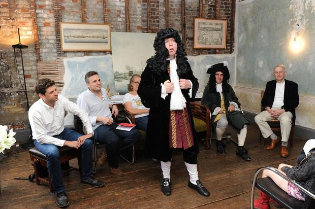 News Shopper: Hello Pepys - Actor Jim Conway gets in to character