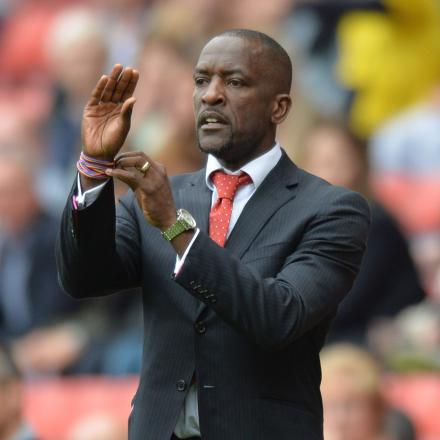 Chris Powell described FA Cup defeat to Sheffield United as a low point in his managerial career. PicK Keith Gillard