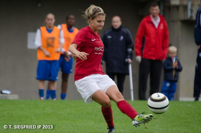 Jenny Newman scored two of Charlton's four-goal haul