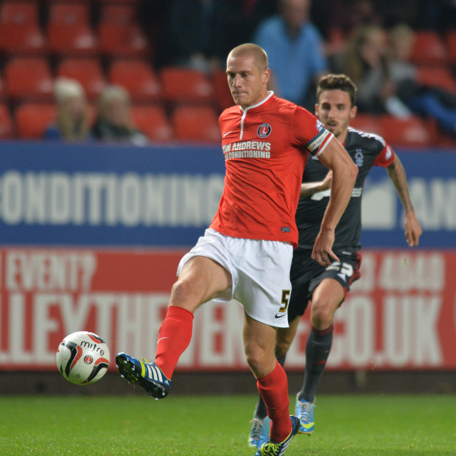 Charlton defender determined to avoid drop