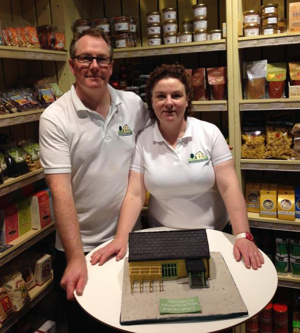 News Shopper: Holwood Farm owners Gary Mercer and Sarah Clout