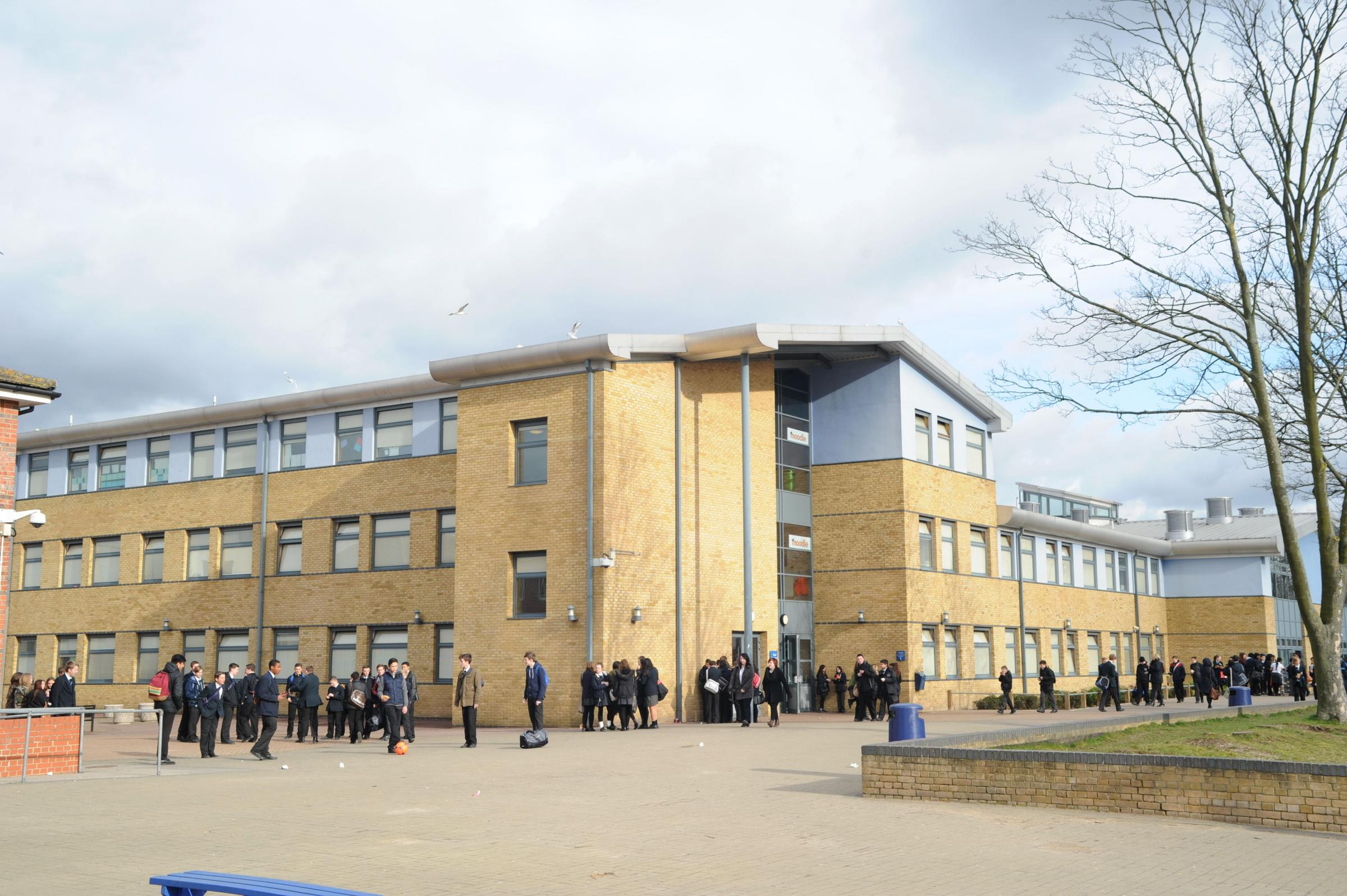 Bexleyheath Academy pupil cut with craft knife in playground prank