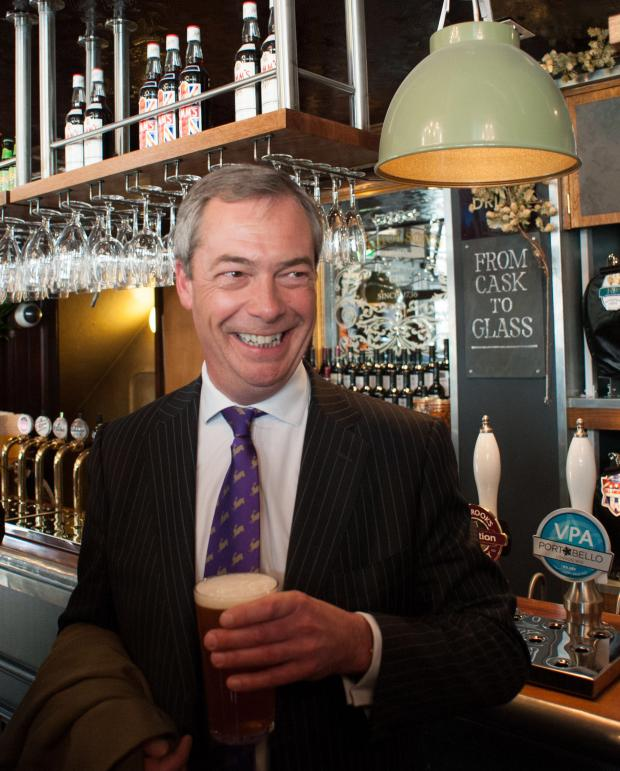 News Shopper: PARTY CONFERENCE: Nigel Farage to address UKIP's regional conference