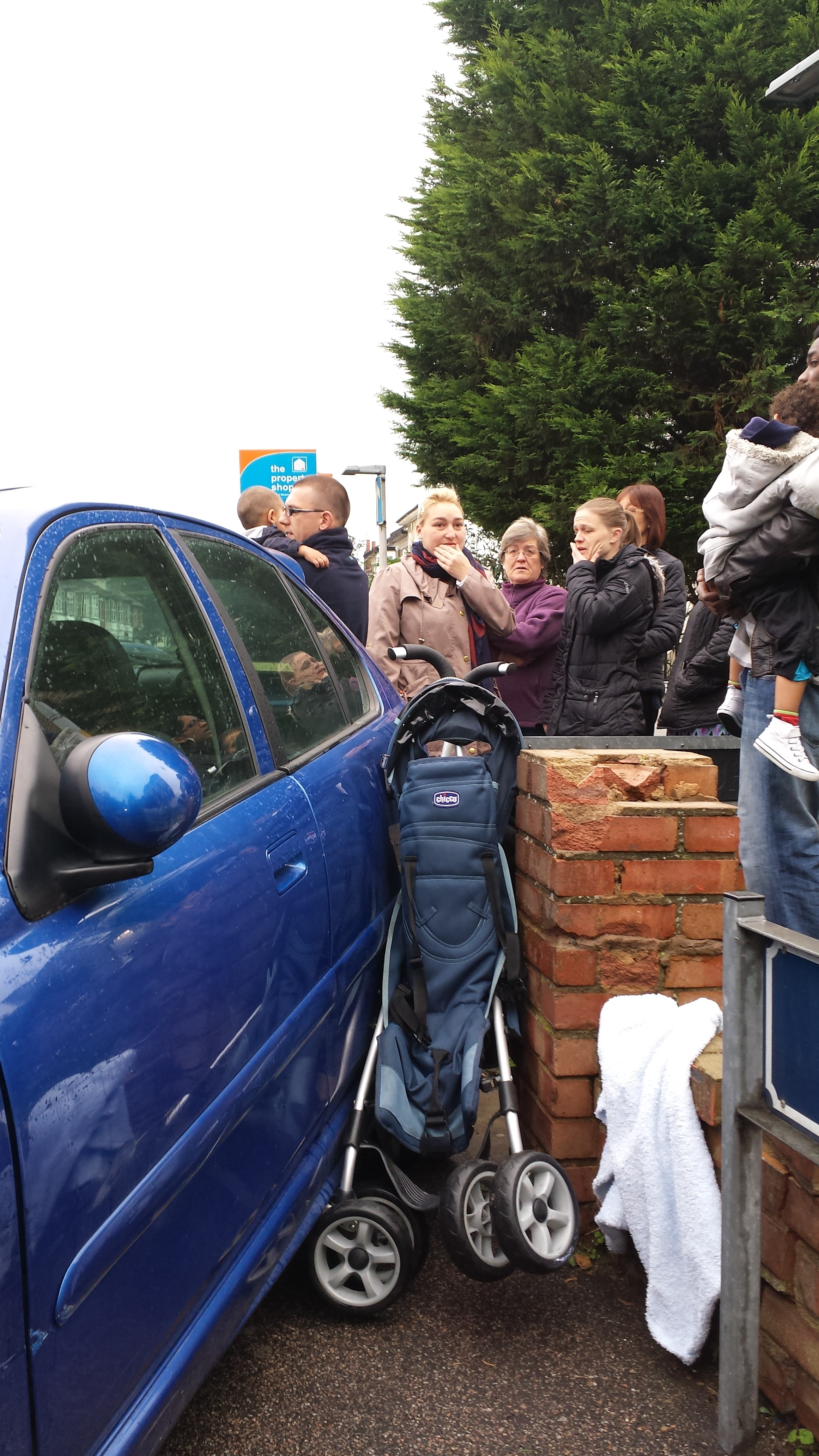 Shocking images show toddler was 'centimetres from death' following Gravesend buggy smash