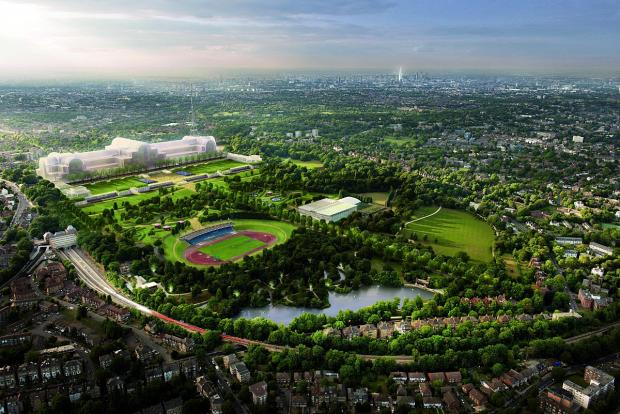 How the park might one day look - photo ZhongRong Group