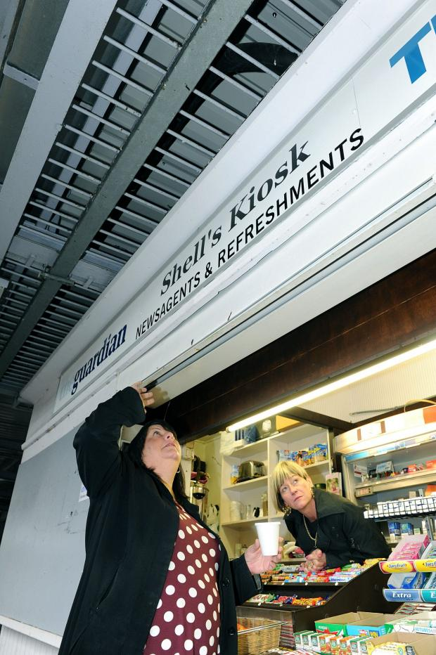 News Shopper: Mottingham rail pigeons pooing on customers and vendor's trade