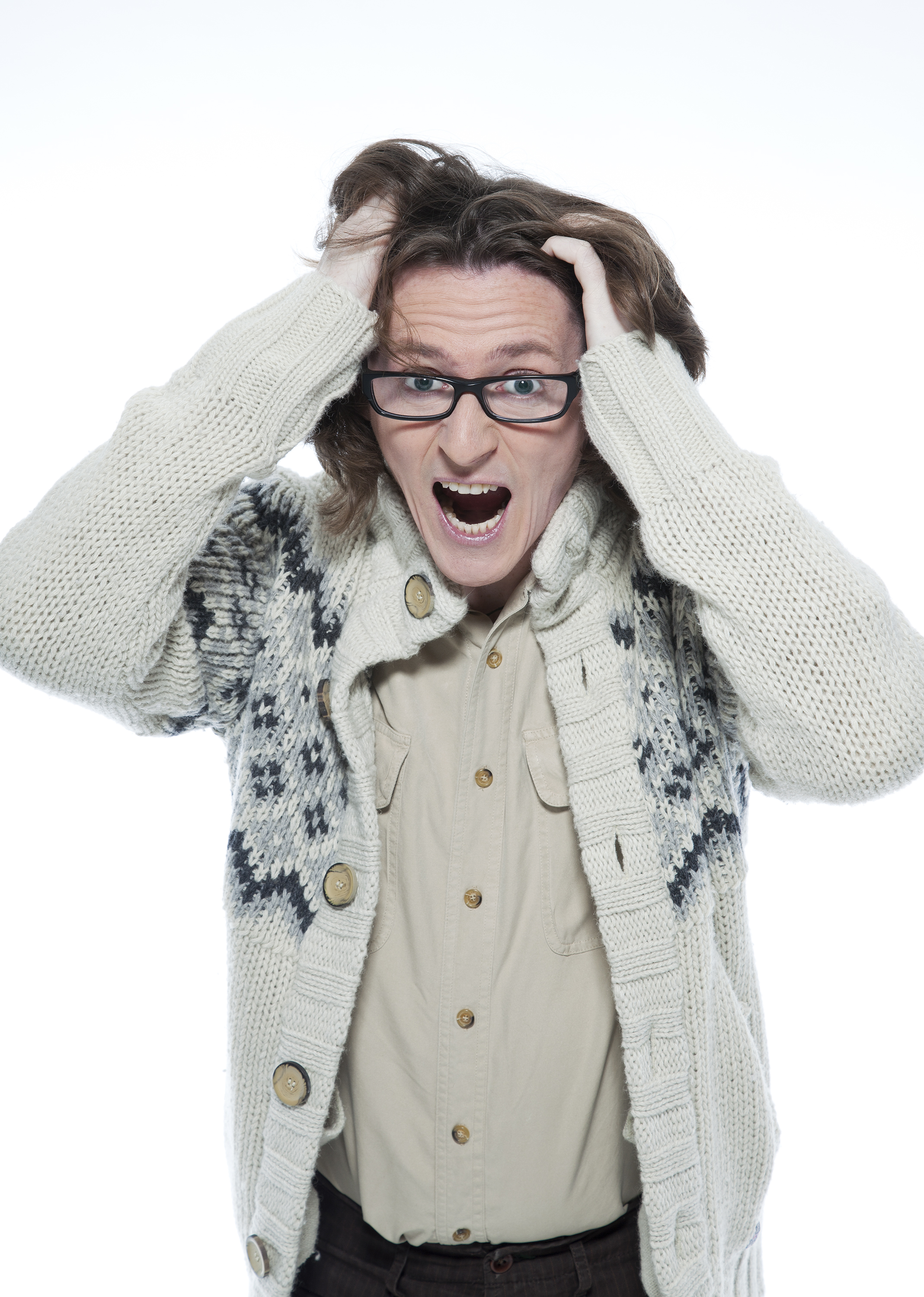 Comedian Ed Byrne on air guitar, being Dara O'Briain's best man and GTA at the Bake Off