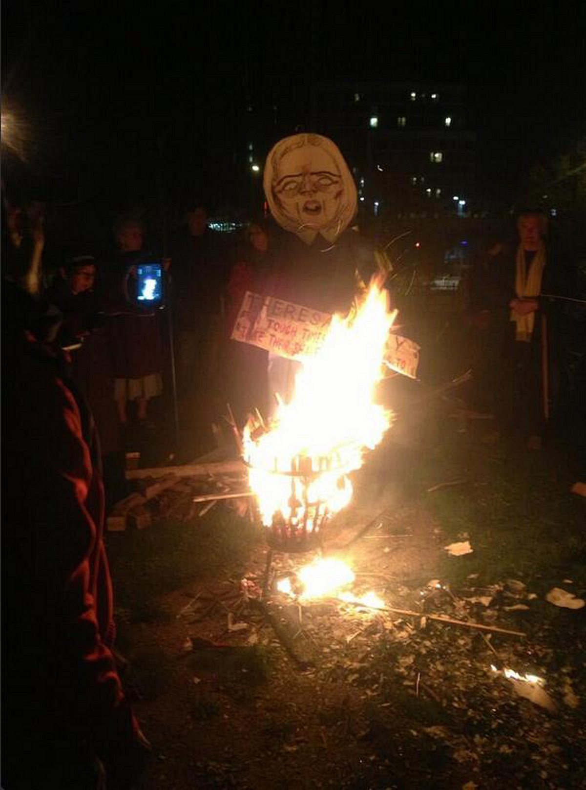 Burning politicians in Lewisham - Guy Fawkes fun or 'immature and aggressive'?