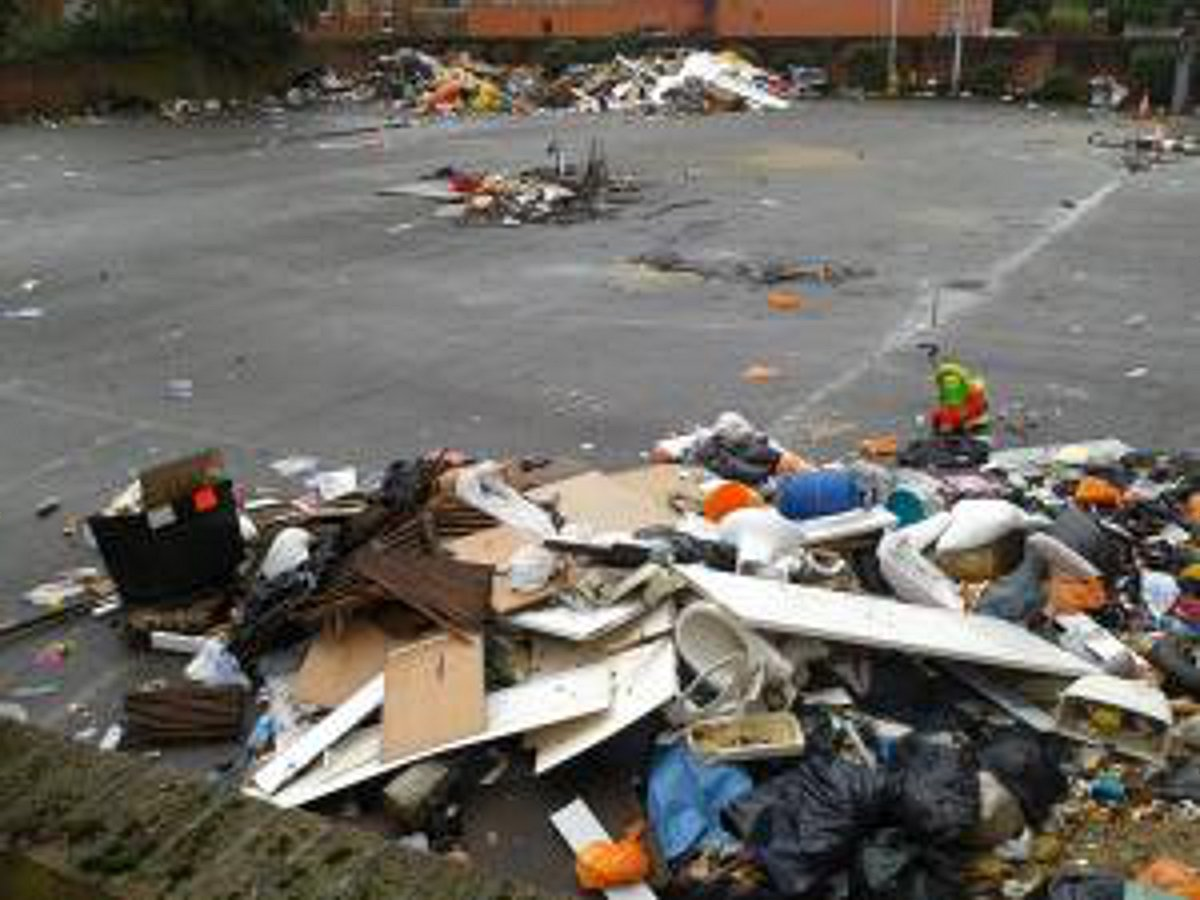 Update: Taxpayers left with bill for Sydenham travellers' car park mess clean-up