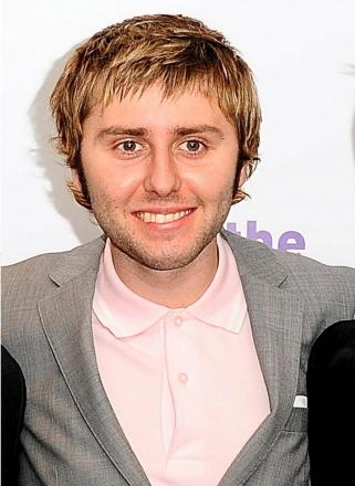Ambitious: Inbetweeners star James Buckley fancies the Palace managerial job
