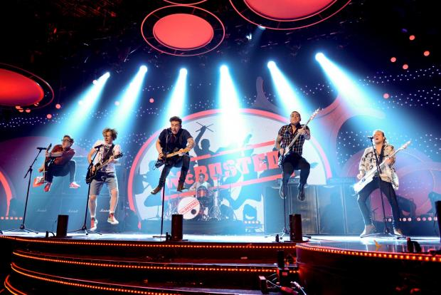 News Shopper: McBusted make their stage debut on BBC's Children in Need