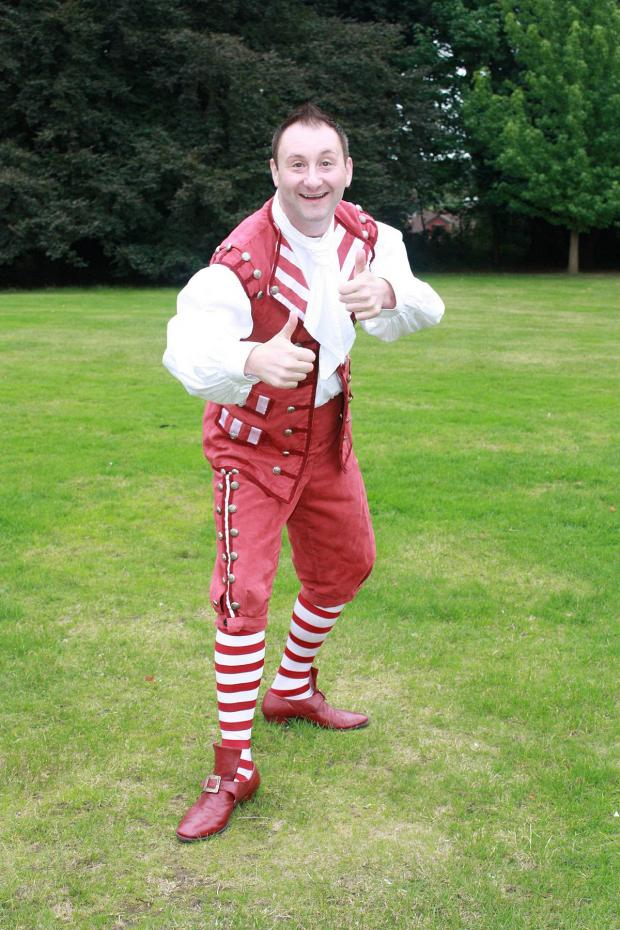 News Shopper: Andrew Agnew as Buttons will be helping Father Christmas at tonight's Orpington Christmas lights switch on