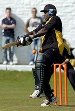 News Shopper: Richie Richardson, seen batting at Idle, will again captain the Lashings World XI