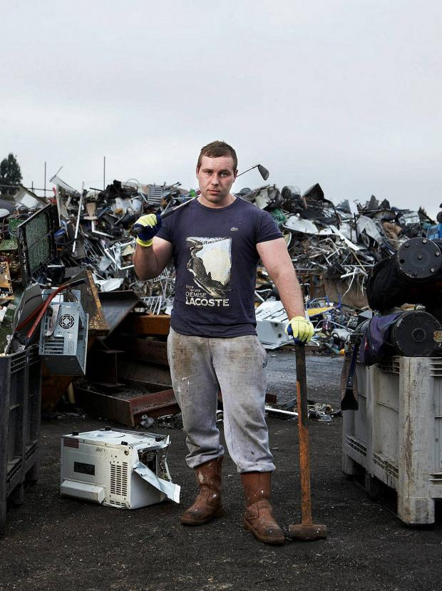 News Shopper: Adam is one of the stars of tomorrow night's Scrappers show. Picture by Jude Edginton/ Channel 4 Picture Publicity