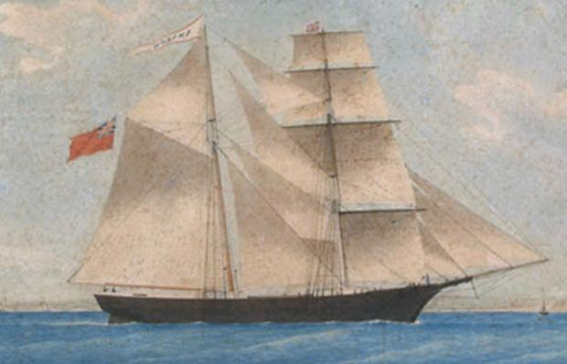 The Mary Celeste was discovered abandoned as a ghost ship in December 1872
