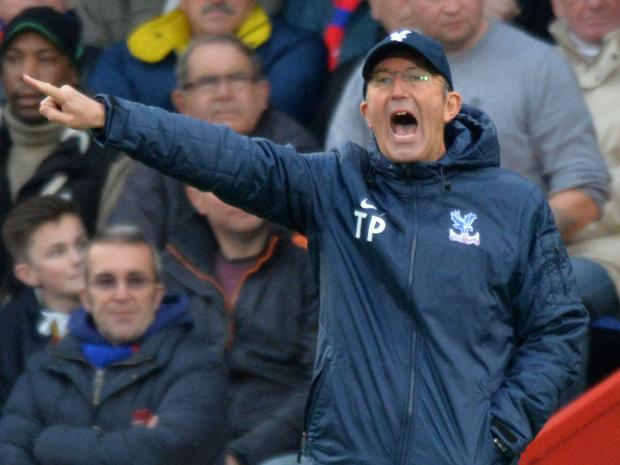 Eagles manager Tony Pulis. PICTURE BY KEITH GILLARD.