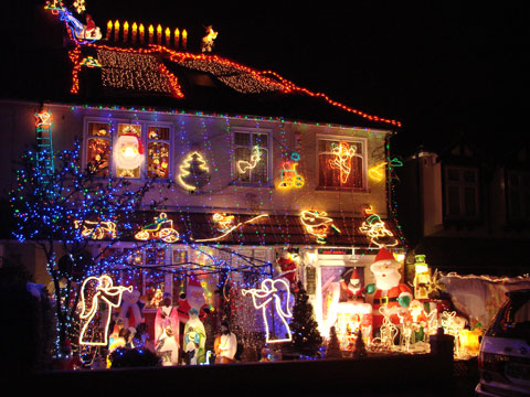 News Shopper Christmas lights in Welling & Nightmare before Christmas - are outdoor lights and decorations a ...