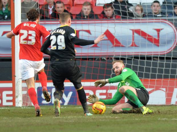 News Shopper: Keeper Ben Alnwick's departure was probably the biggest surprise of all. PICTURE BY KEITH GILLARD.