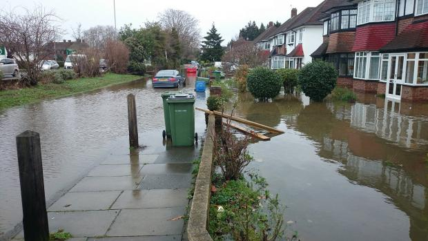 News Shopper: PICTURED: Devastating Eltham floods ruin around 23 homes with families forced to move