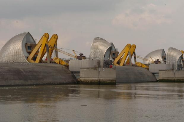 News Shopper: The Thames Barrier will be closed from around 3pm until 7.30pm today (Jan 6).