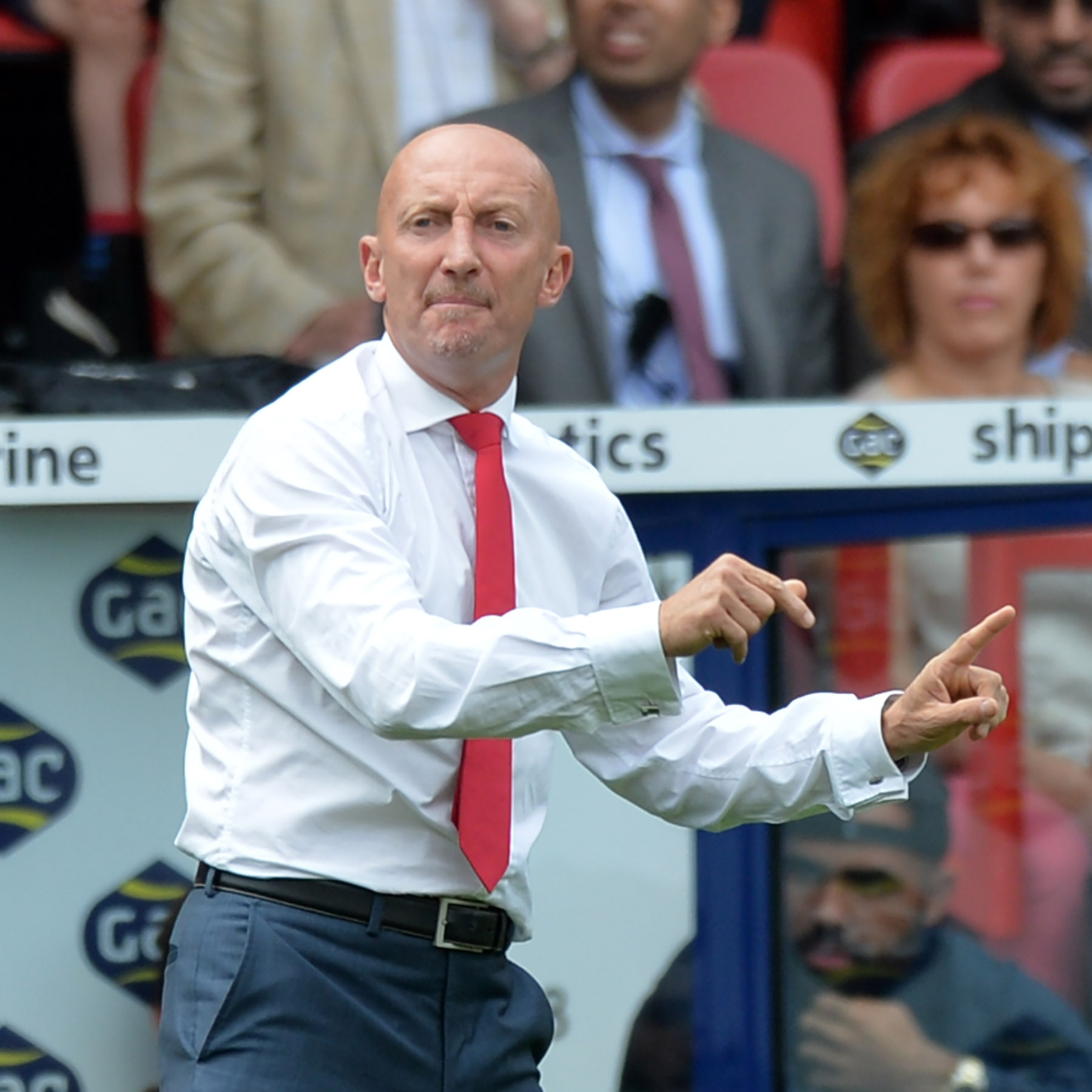Former Palace boss Ian Holloway. PICTURE BY KEITH GILLARD.