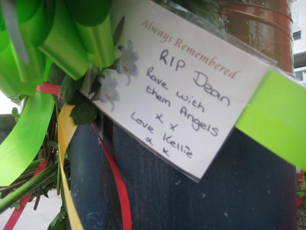 News Shopper: A note left at the scene of the crash