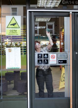 A member of staff removed the sign today (Jan 7) after News Shopper got in contact.