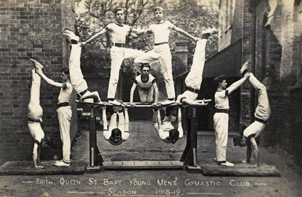News Shopper: Erith gymnasts in 1918. Pictures courtesy of Bexley Archives and Local Studies