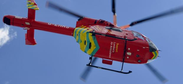 London Air Ambulance scrambled after child takes a fall at St Paul's Cray school