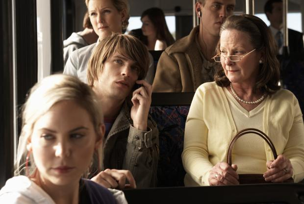 News Shopper: Do you ever get annoyed by people using their mobile phones on buses or trains?