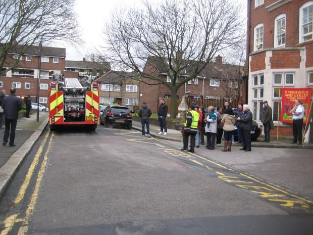 News Shopper: Woolwich's fire engine leaves for the last time