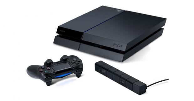 The PS4 games console from Sony