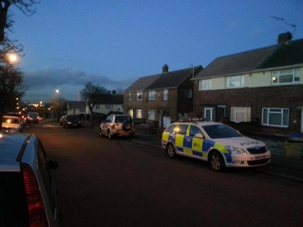 Police are making enquiries in St Hilda's Way, Gravesend.