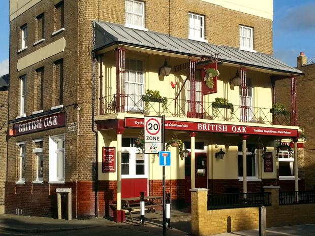 PubSpy reviews The British Oak, Blackheath