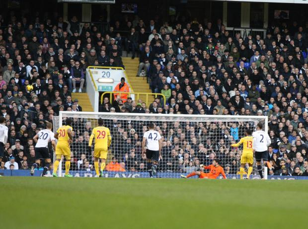 Jason Puncheon's early penalty miss at Tottenham is one he will quickly want to forget